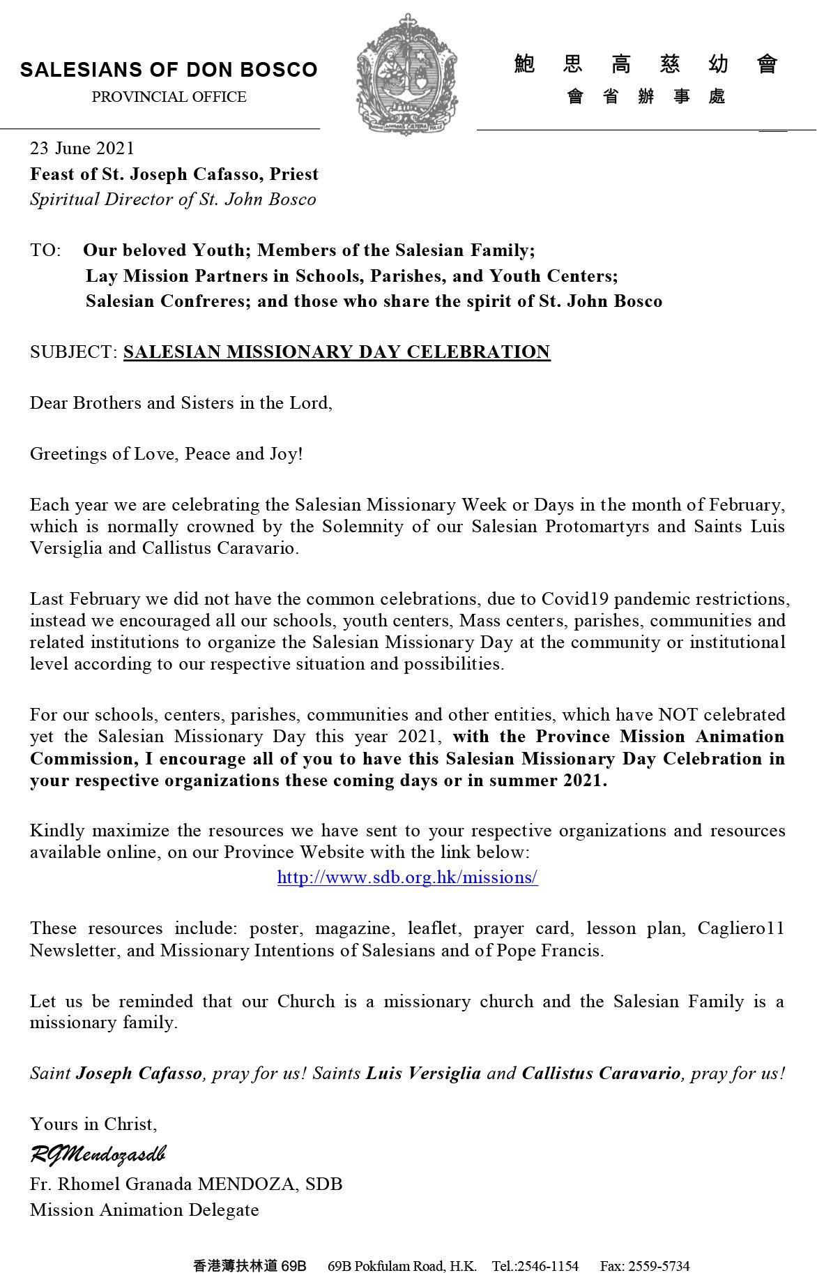 CIN Mission Delegate Letter 2021-06-23